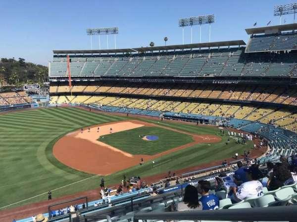 Dodger Stadium, secção: 31RS, fila: J, lugar: 1