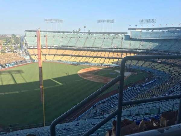 Dodger Stadium, secção: 53RS, fila: AA, lugar: 2