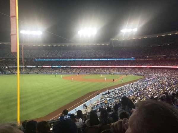 Dodger Stadium, secção: 163LG, fila: H, lugar: 2
