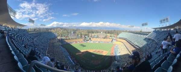 Dodger Stadium, secção: 3TD, fila: N, lugar: 20