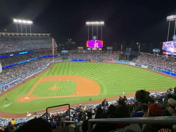 Dodger Stadium, secção: 12RS, fila: GG, lugar: 1
