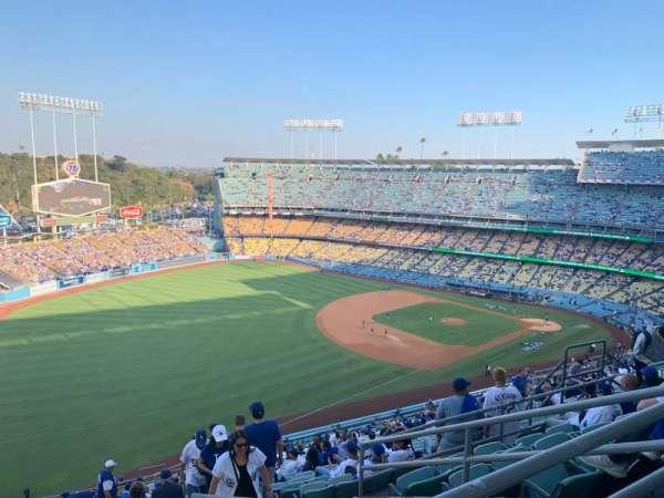 Dodger Stadium, secção: 41RS, fila: FF, lugar: 14