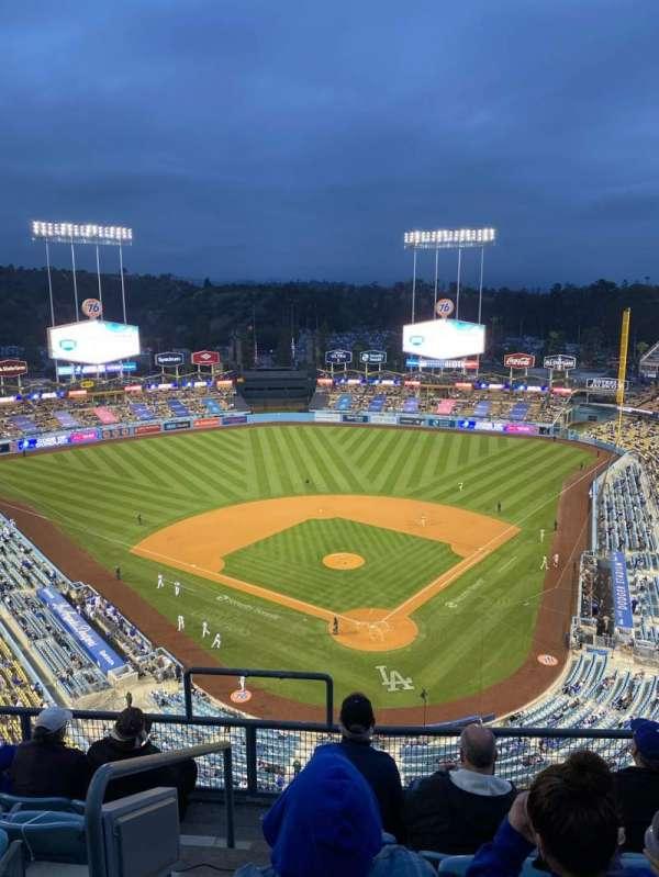 Dodger Stadium, secção: 3TD, fila: F, lugar: 18