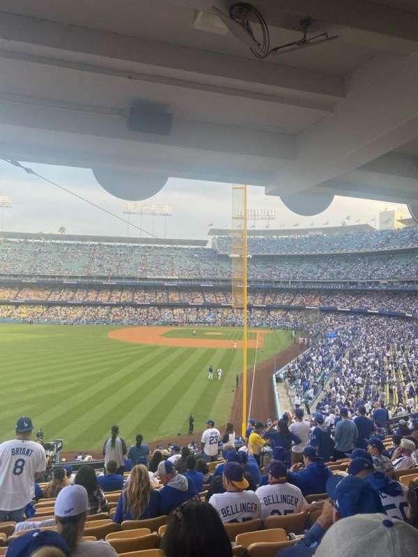 Dodger Stadium, secção: 167LG, fila: S, lugar: 7