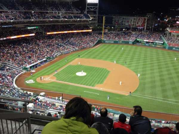 Nationals Park, secção: 420, fila: E, lugar: 25