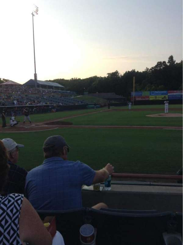 Prince George's Stadium, secção: 109, fila: C, lugar: 9