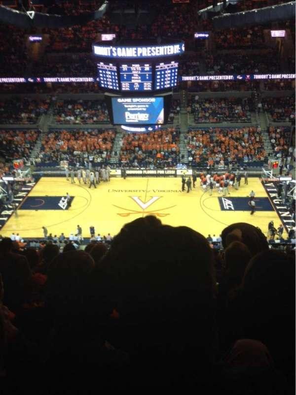 John Paul Jones Arena, secção: 313, fila: T