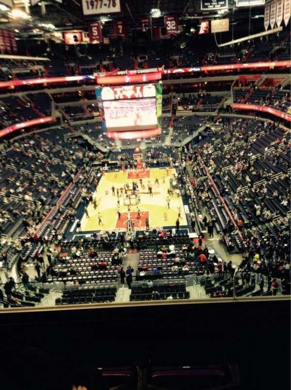 Capital One Arena, secção: 426, fila: C, lugar: 8