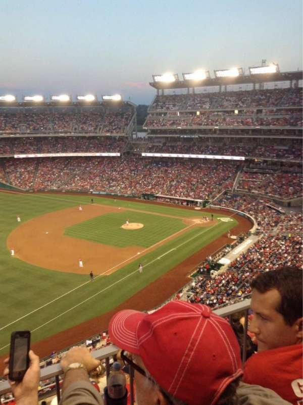 Nationals Park, secção: 304, fila: K