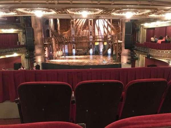 CIBC Theatre, secção: Dress Circle RC, fila: C, lugar: 226