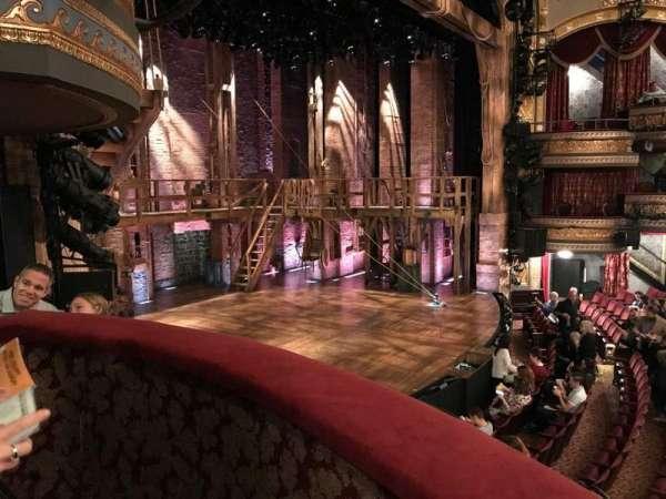Richard Rodgers Theatre, secção: BOX B, fila: A, lugar: 1