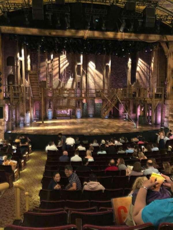 Richard Rodgers Theatre, secção: Orchestra C, fila: P, lugar: 112