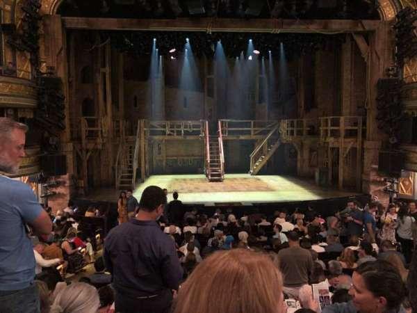 Richard Rodgers Theatre, secção: Orchestra C, fila: P, lugar: 107