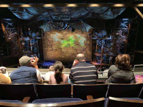 Gershwin Theatre, secção: Front Mezzanine C, fila: E, lugar: 111