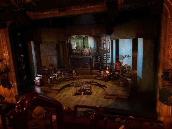 Walter Kerr Theatre, secção: Mezzanine R, fila: D, lugar: 2