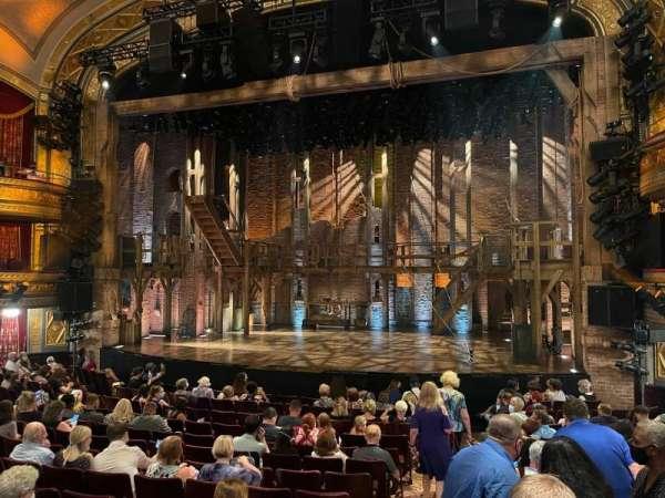 Richard Rodgers Theatre, secção: Orchestra R, fila: N, lugar: 2