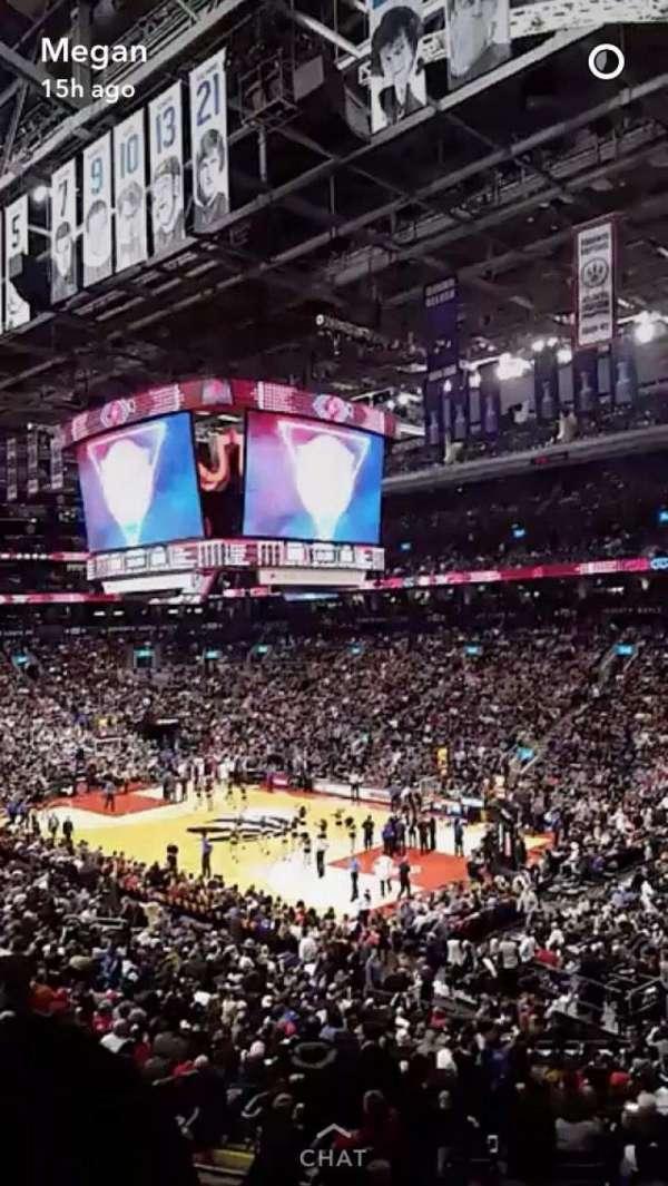 Scotiabank Arena, secção: 105, fila: 28, lugar: 24