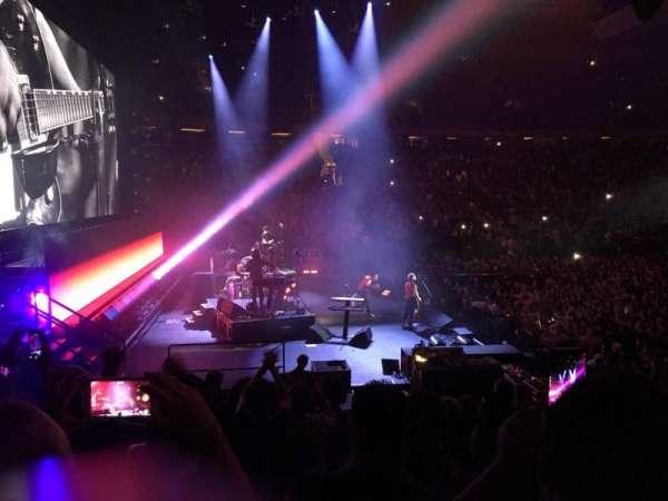 Madison Square Garden, secção: 115, fila: 10, lugar: 5