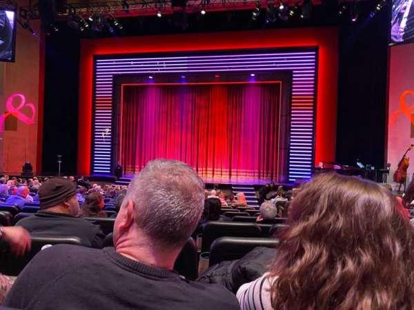 Penn & Teller Theater, secção: 2, fila: N, lugar: 4