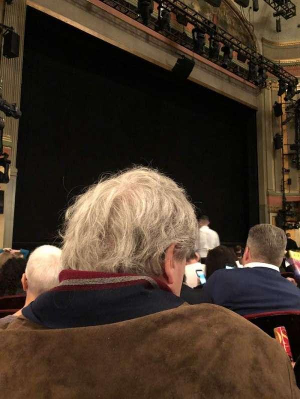 Neil Simon Theatre, secção: Orchestra L, fila: L, lugar: 17