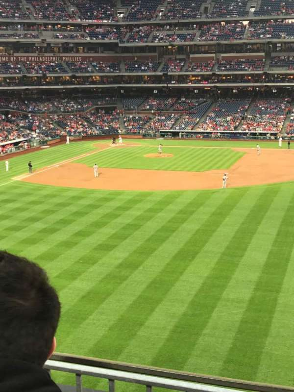 Citizens Bank Park, secção: 202, fila: 2, lugar: 9