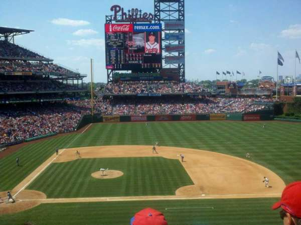 Citizens Bank Park, secção: 216, fila: 4, lugar: 13