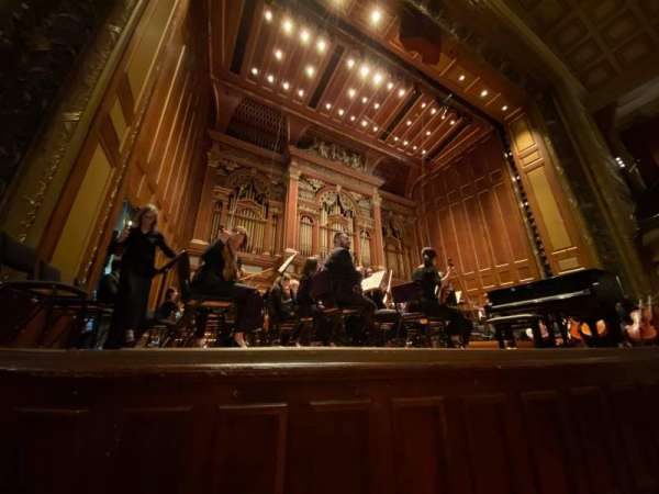 Jordan Hall at the New England Conservatory, secção: Orchestra Left, fila: A, lugar: 11