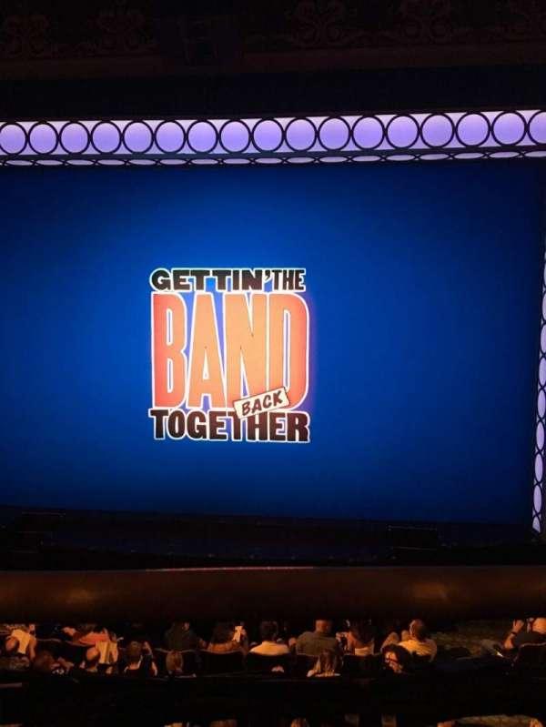 Belasco Theatre, secção: Mezzanine, fila: A, lugar: 112