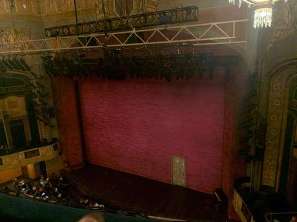 Shubert Theatre, secção: Balcony, fila: C, lugar: 12