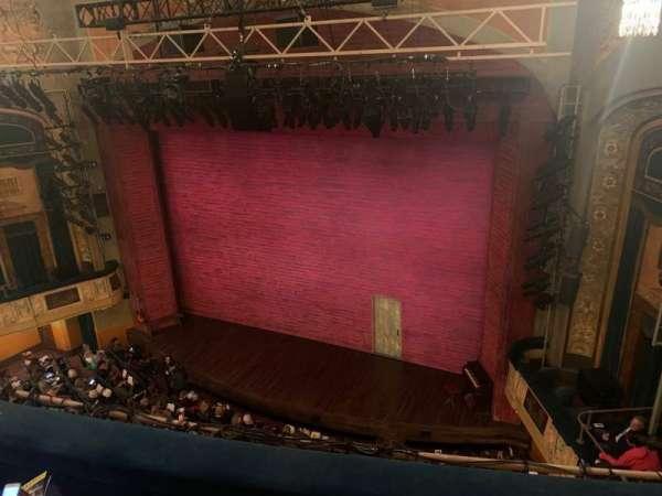 Shubert Theatre, secção: Balcony R, fila: C, lugar: 14