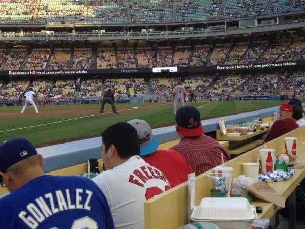 Dodger Stadium, secção: 39BL, fila: 2, lugar: 1