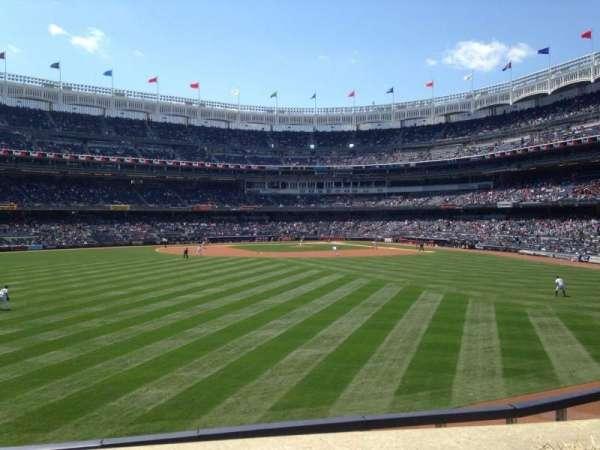 Yankee Stadium, secção: 238, fila: 1, lugar: 1