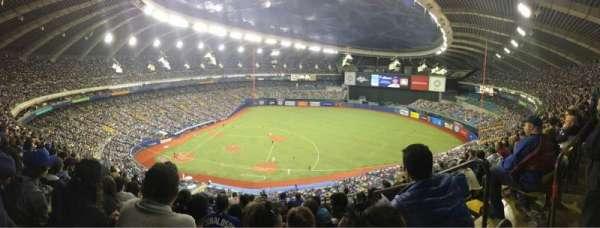Olympic Stadium, Montreal, secção: 421, fila: 1, lugar: 1