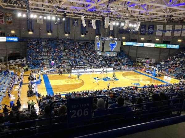 Alumni Arena (University at Buffalo), secção: 308, fila: A, lugar: 9