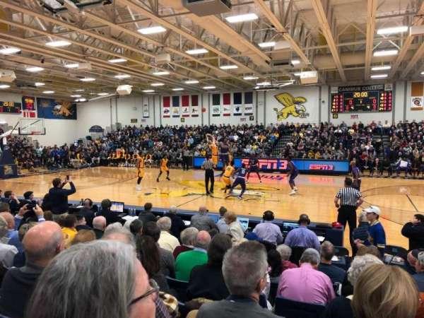 Koessler Athletic Center, secção: 2, fila: G, lugar: 2