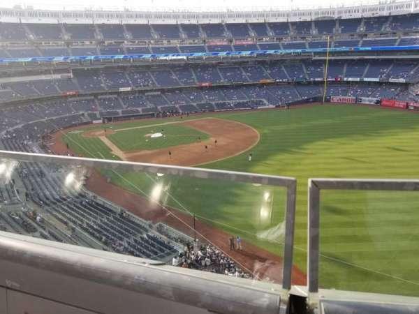 Yankee Stadium, secção: 309, fila: 1, lugar: 1