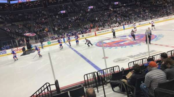 Barclays Center, secção: 26, fila: 10, lugar: 2