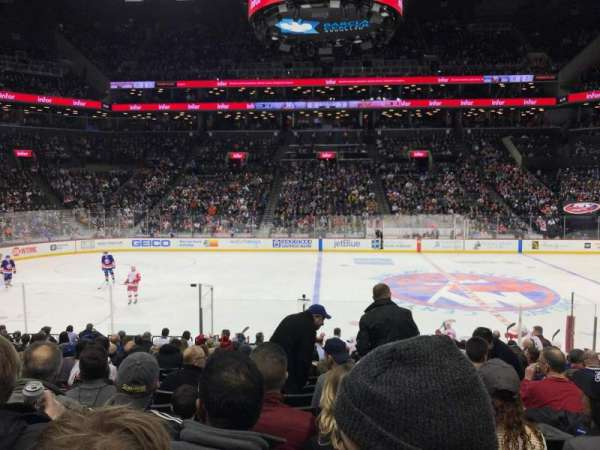 Barclays Center, secção: 8, fila: 16, lugar: 9