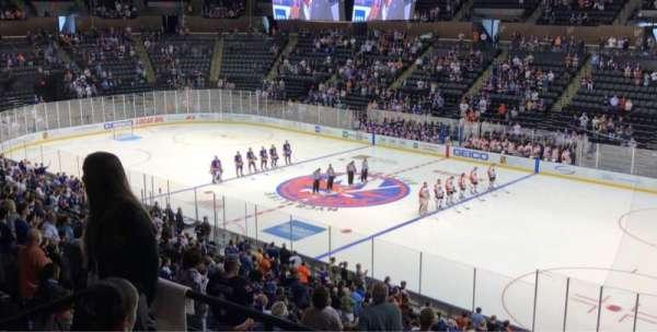 Nassau Veterans Memorial Coliseum, secção: 239, fila: 5, lugar: 10
