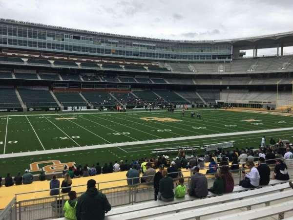 McLane Stadium, secção: 127, fila: 23, lugar: 23
