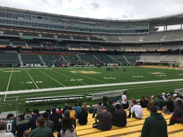 McLane Stadium, secção: 126, fila: 13, lugar: 26