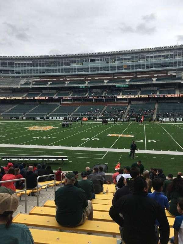McLane Stadium, secção: 123, fila: 13, lugar: 31