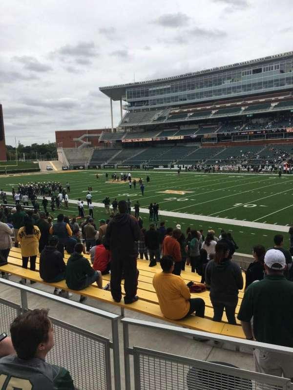 McLane Stadium, secção: 120, fila: 17, lugar: 1