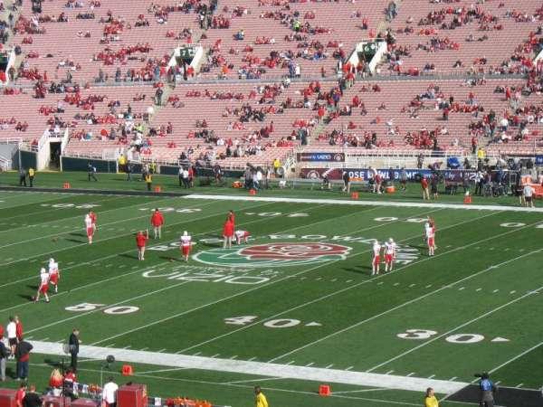 Rose Bowl, secção: 21-L, fila: 56, lugar: 13