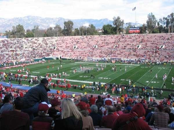 Rose Bowl, secção: 21-L, fila: 56, lugar: 14