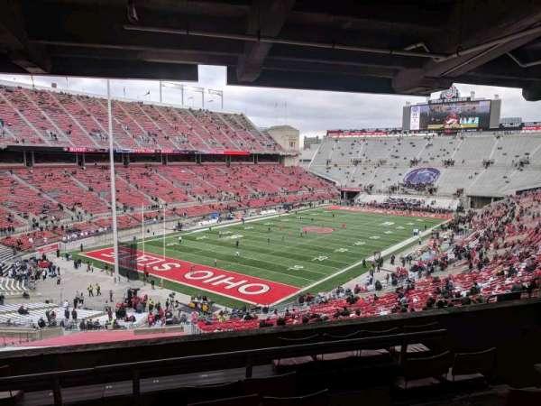 Ohio Stadium, secção: 7B, fila: 7, lugar: 12