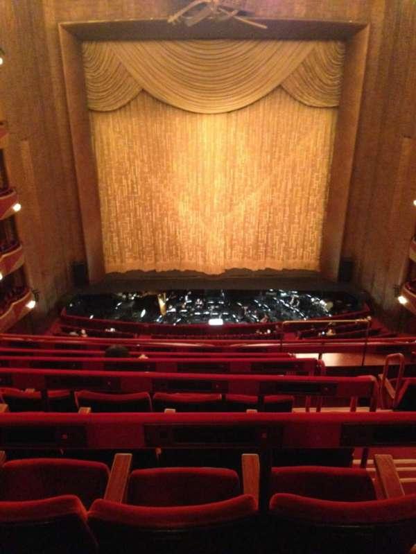Metropolitan Opera House - Lincoln Center, secção: Balcony C, fila: F, lugar: 107