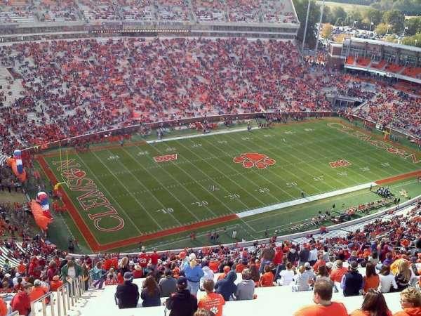 Memorial Stadium, Clemson, secção: TDL