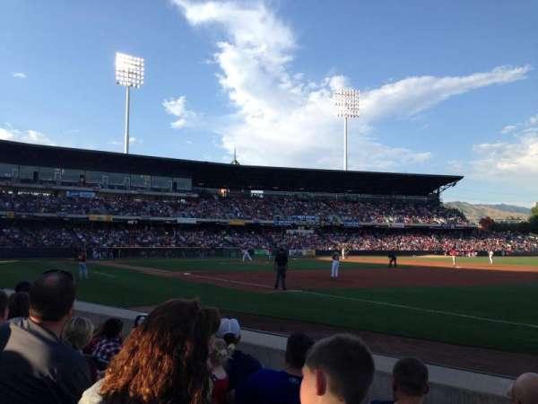 Smith's Ballpark, secção: 5, fila: 4, lugar: 4