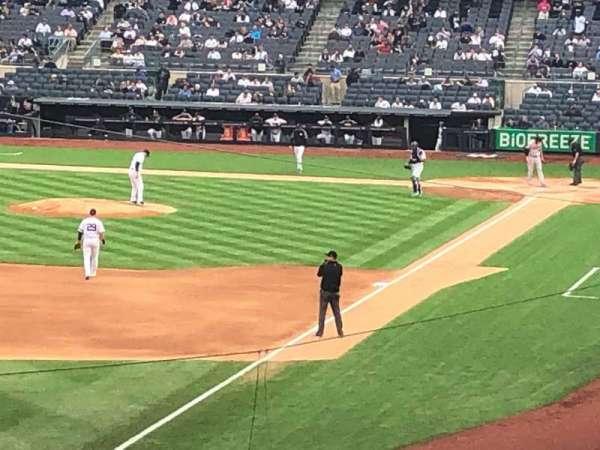 Yankee Stadium, secção: 231, fila: 1, lugar: 11